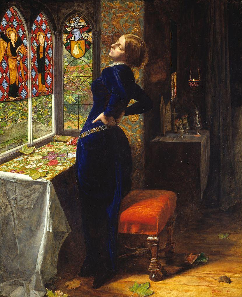 Marijana, Džon Everet Mile, lord Alfred Tenison