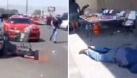 Jezivi prizori ispred tržnog centra u Teksasu: Upucani leže na sve strane, oko njih je krv (VIDEO)