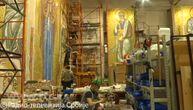 Zavirite u Hram Svetog Save: Kako napreduju mozaici Bogorodice i Hristosa koji blagosilja sve