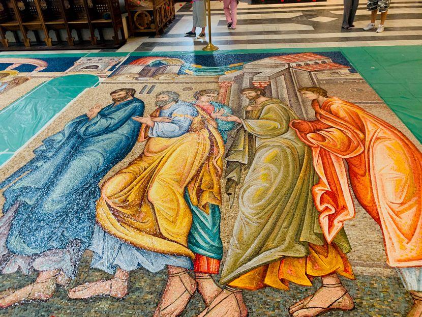 Crkva Svetog Marka, mozaik