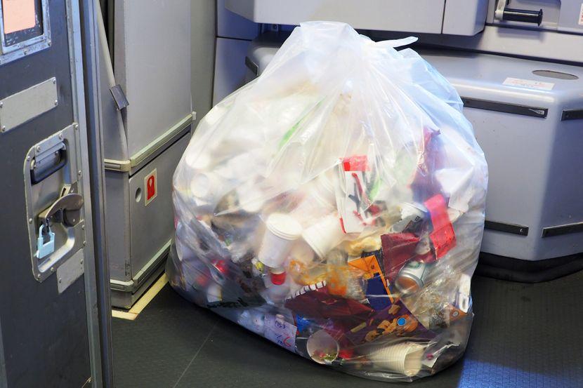 Avion, smeće, otpad, đubre