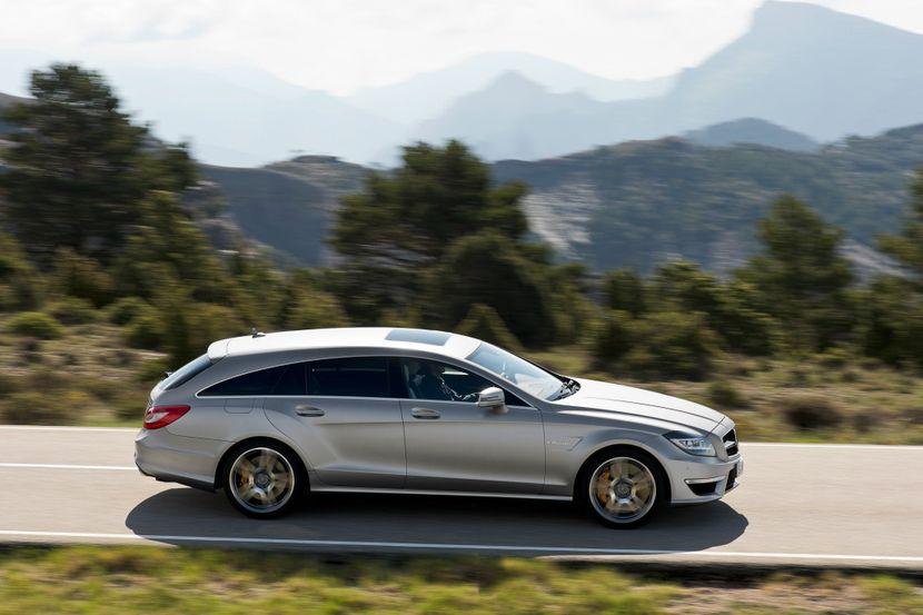 Mercedes CLS 63 Wagon