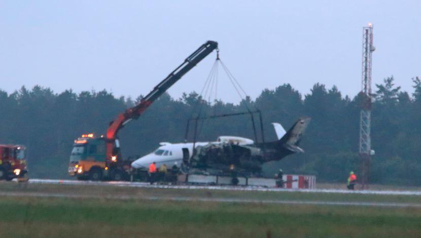 Pevačica Pink, privatni avion nesreća