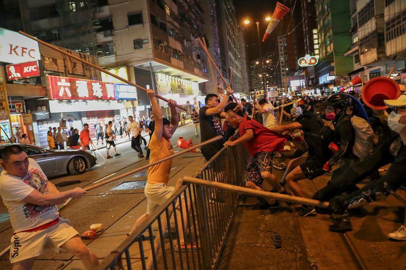 Hongkong Hong Kong protesti