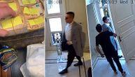 Ovako Boki 13 sa saradnikom izlazi iz vile sa 1.000.000 evra u koferu! (VIDEO)