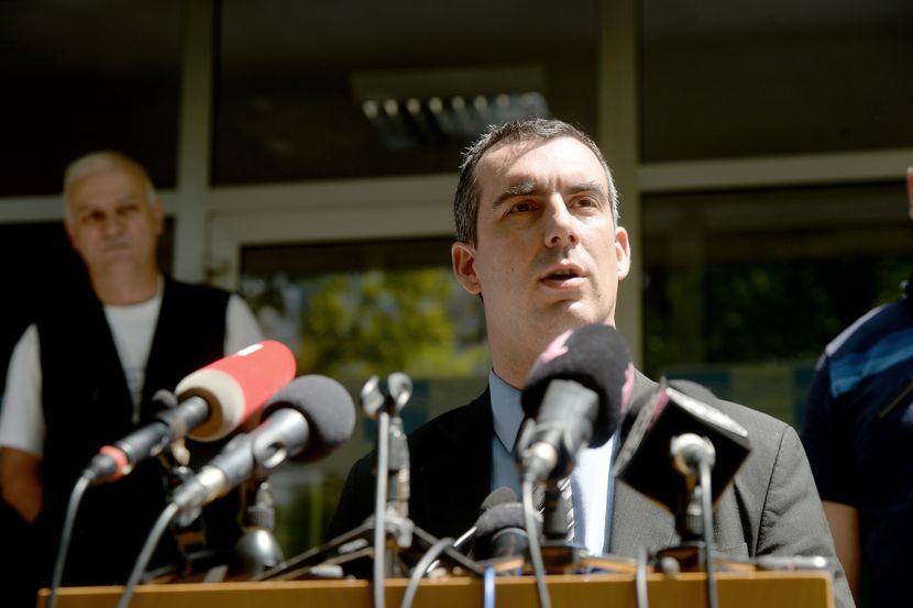 Vladimir Orlić, Đorđo Žujović, sastanak opozicije