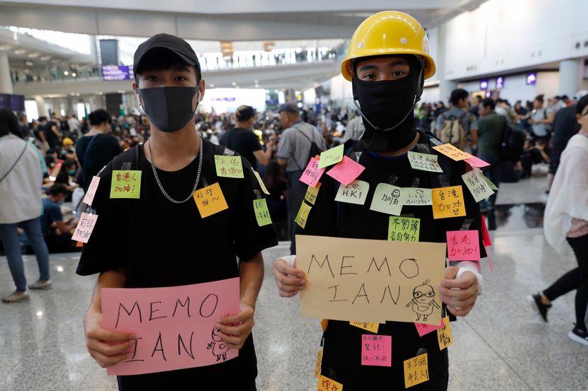 hongkong, protesti, aerodrom