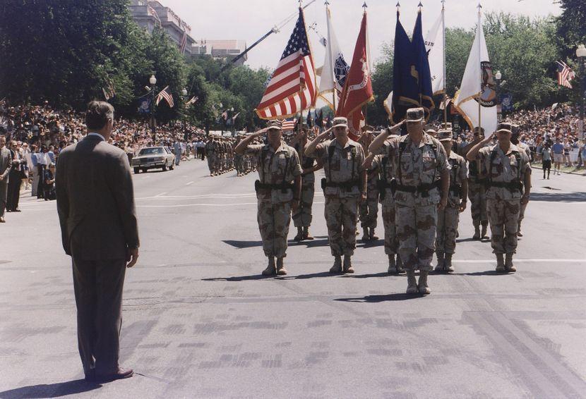 Vojna parada u Americi 1991