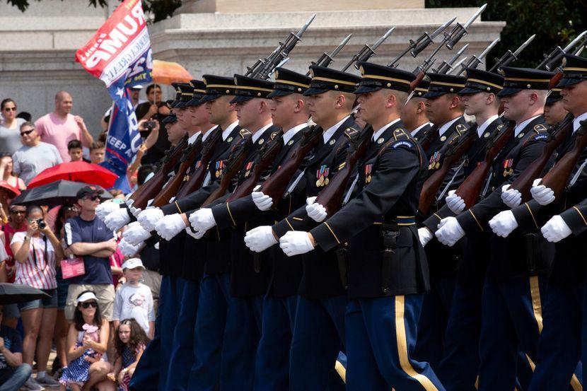 Vojna parada u Americi