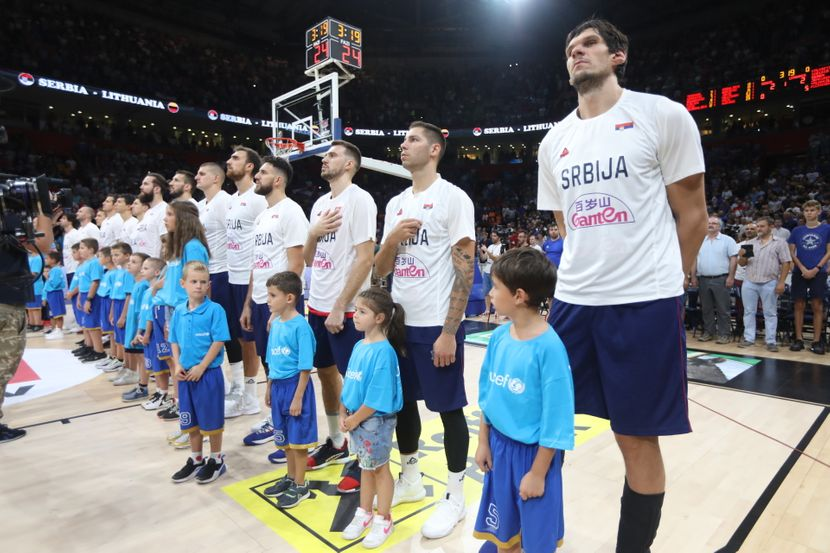 Košarkaška reprezentacija Srbije, Srbija - Litvanija