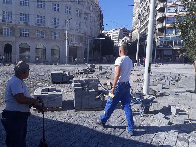 Rekonstrukcija Karađorđeve ulice i Trga republike