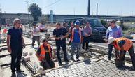 Na prvom mestu je zdravlje ljudi: Gradski čelnici obišli gradilišta i poručili radnicima da se štite