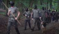 Maskirani Slovenci u uniformama vežbaju u kampu nedaleko od granice sa Hrvatskom, javnost uznemirena