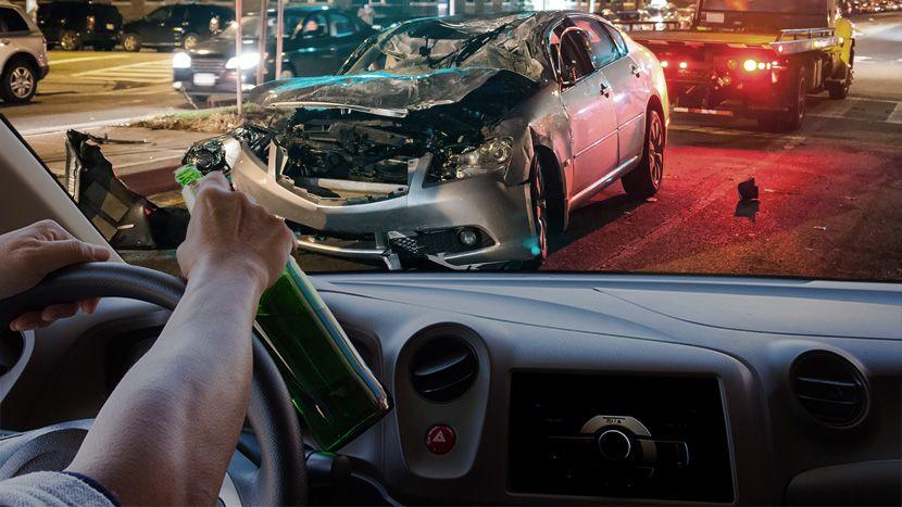 Saobraćajna nesreća, vožnja u pijanom stanju, pijan čovek