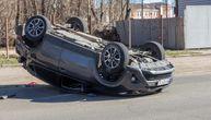 Udes srpske porodice na Halkidikiju: Auto se prevrnuo na krov, u njemu bilo i dete