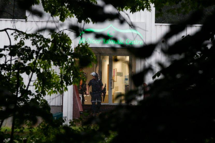 Oslo, pucnjava u Džamiji