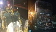 Autobus pun srpskih turista potpuno izgoreo u Grčkoj: Putnici preživeli zahvaljujući spretnom vozaču