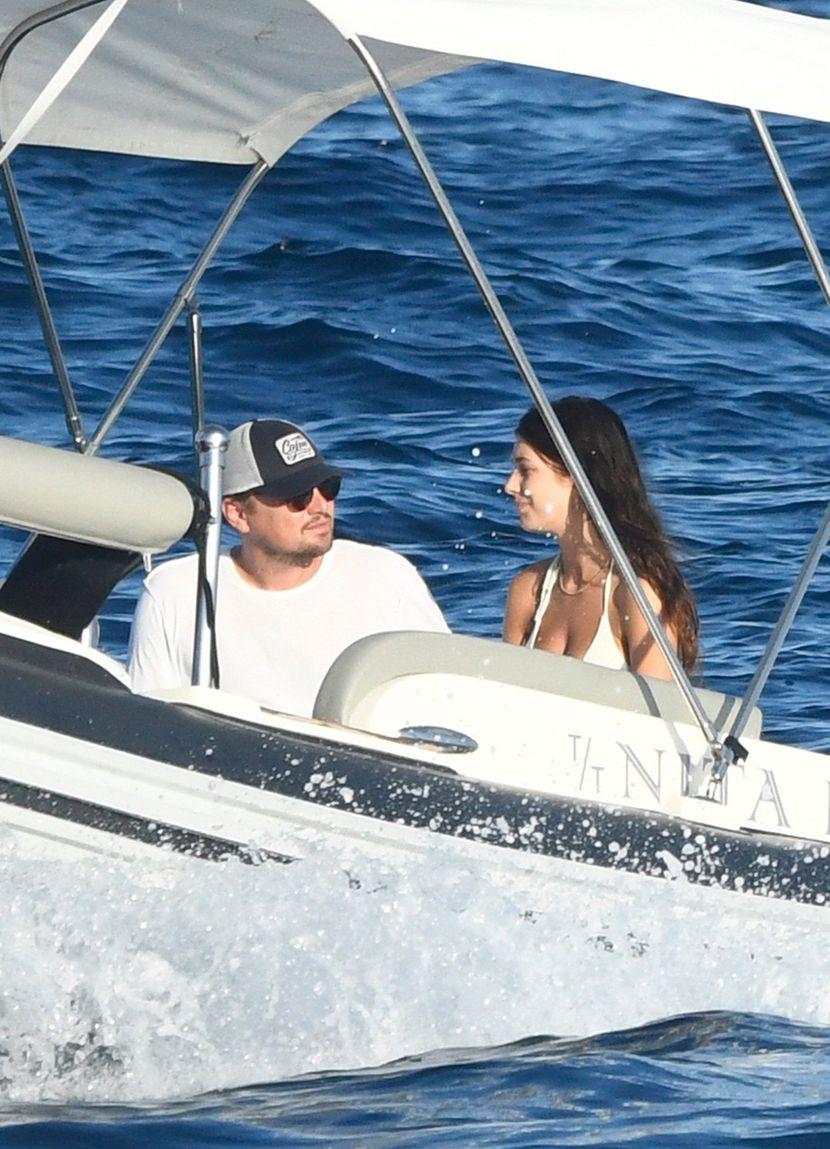Leonardo Dicaprio and girlfriend Camila Morrone Dikaprio Kamila