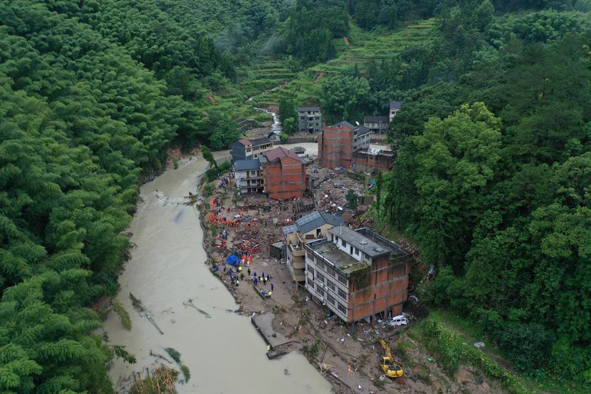 Kina, Tajfun Lekima