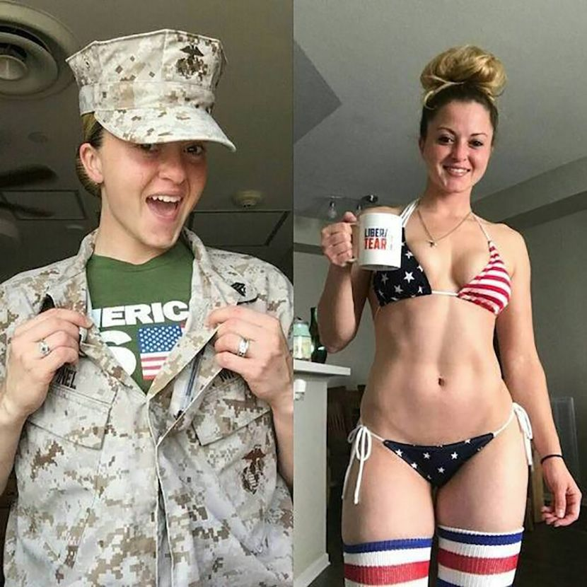 Devojke sa i bez uniforme