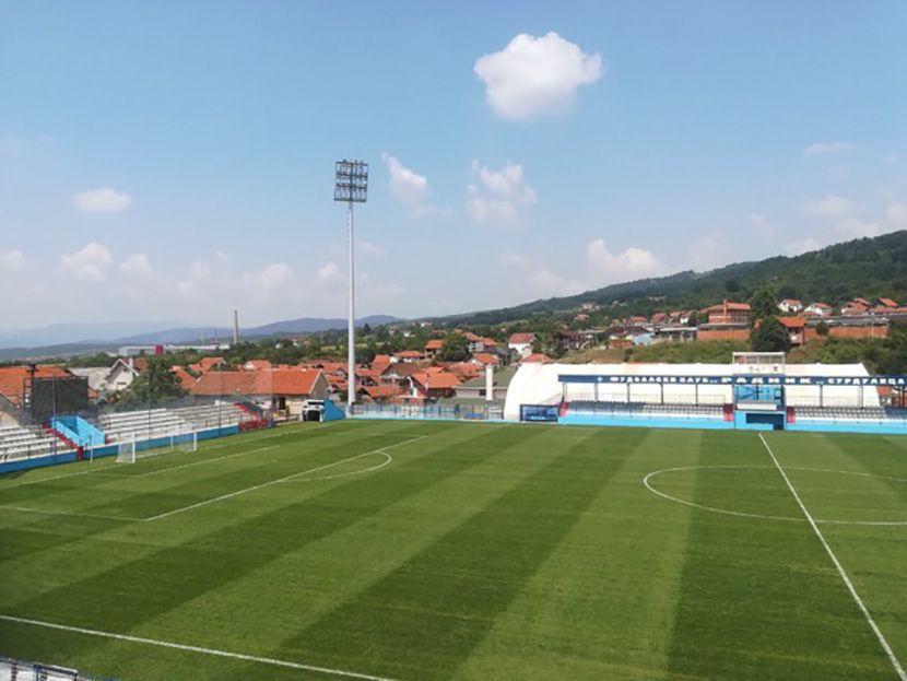Jovan Surbatovic, fudbalski tereni
