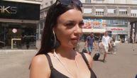 Hrvaticu s veštačkim trepavicama pitali šta misli o politici: Njen odgovor je totalni hit! (VIDEO)