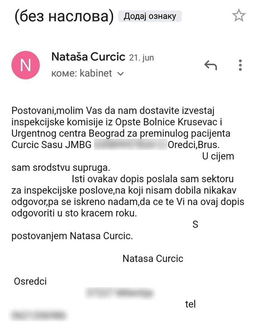 Sasa Curcic Krusevac