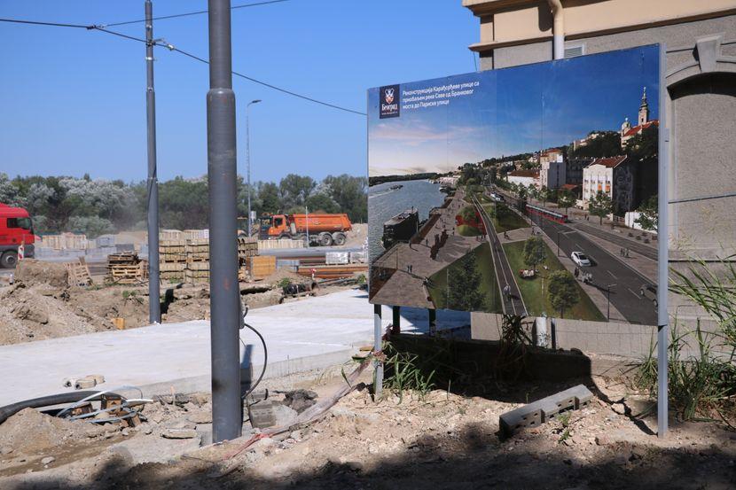 Karađorševa ulica, radovi