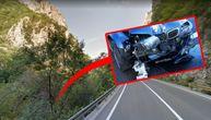 BMW u Sićevačkoj klisuri pao na prugu sa visine od 10 metara: Dve osobe teško povređene, dve lakše