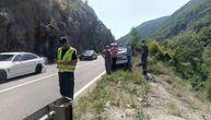 Još jedan težak udes u Sićevačkoj klisuri: Troje teško povređeno, obustavljen saobraćaj u oba smera
