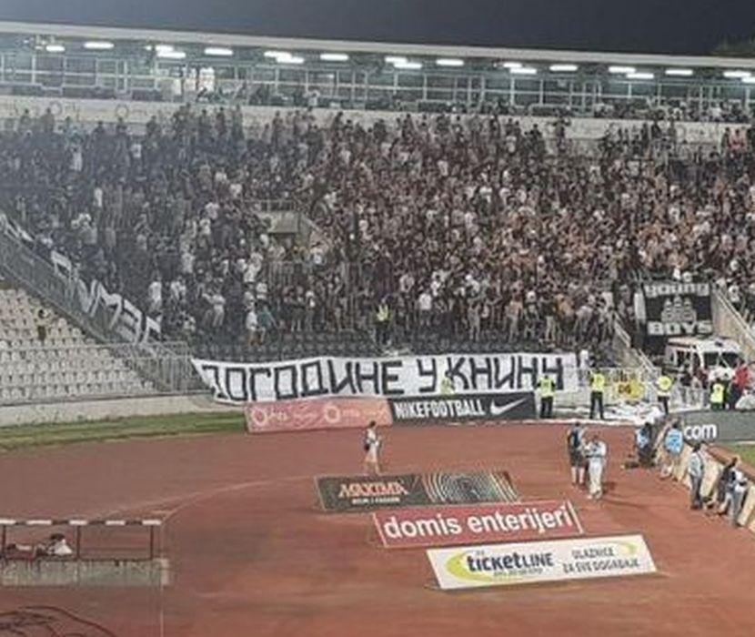 FK Partizan, Dogodine u Kninu