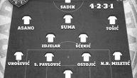 Partizanov tim za Molde: Struku brine samo Ostojić (GRAFIKA)