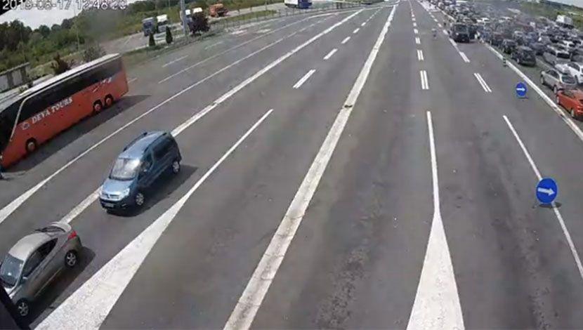 Batrovci E70, Ulaz u Srbiju iz Hrvatske