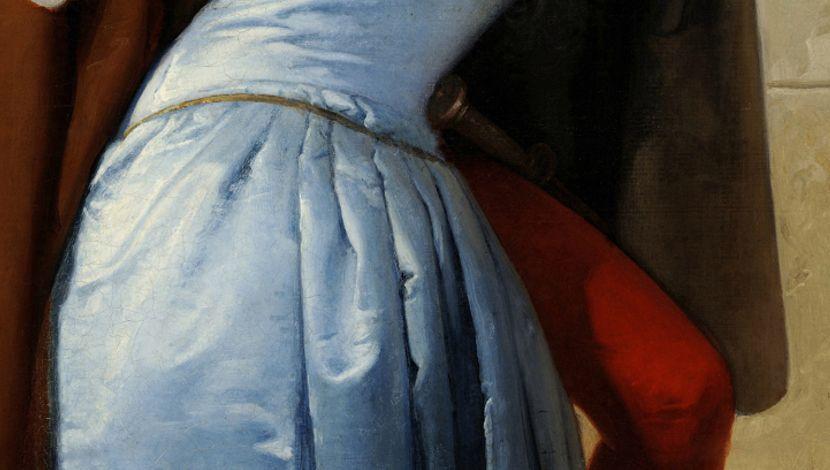 Poljubac, Frančesko Ajez, Istorija umetnosti, Italijansko slikarstvo