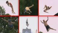 Fora je skočiti sa skakaonice što smešnije, i razbiti se o vodu kao zvečka (VIDEO)