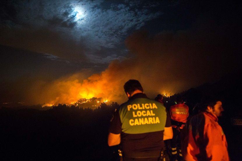 Kanarska ostrva požar