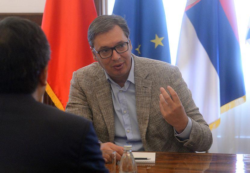Vučić na potpisivanju Komercijalnog ugovora