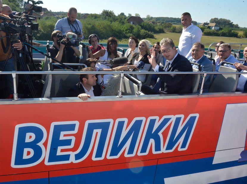 Otvaranje auto-puta Miloš Veliki