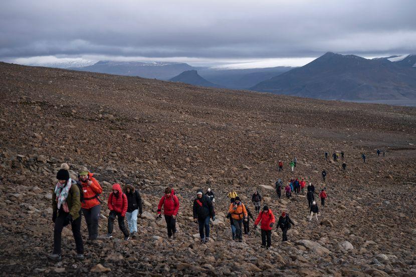 Nestali glečer na Islandu