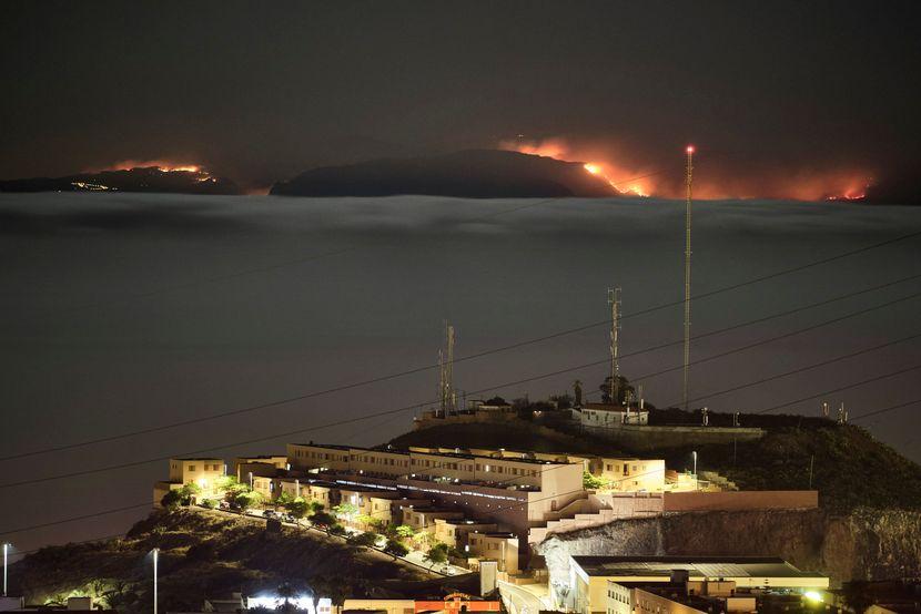kanarska ostrva, požar, evakuacija