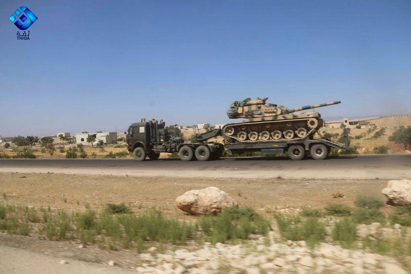 turski konvoj, sirija