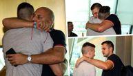 Brate naš, igramo za tebe u Kini: Emotivan oproštaj košarkaša i selektora od Milosavljevića! (FOTO)