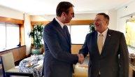 Počeo sastanak Vučića i Pompea: Glavna tema Kosovo (FOTO)
