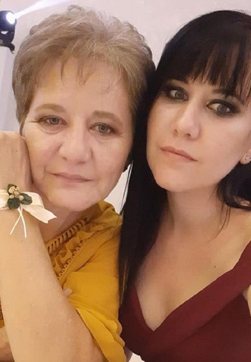 Milka Kreća i njena ćerka Zorica