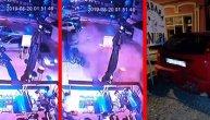 Zaleteo se u baštu kafića, samo čudom nije ubio ljude: Uznemirujući snimak iz Bele Crkve (VIDEO)