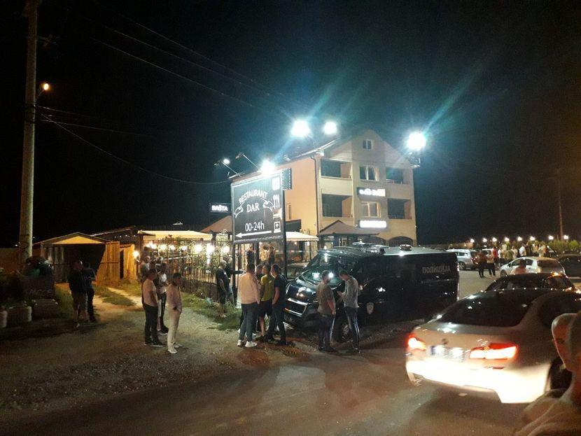 Pucnjava, restoran Novi Pazar