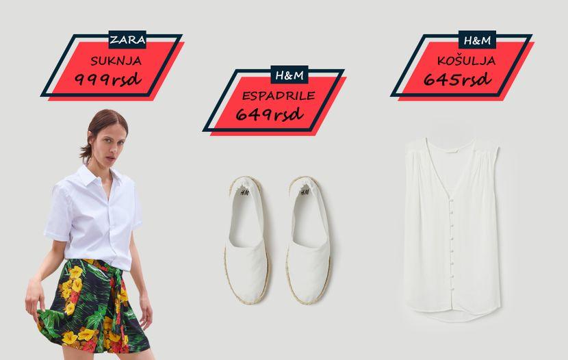Modne kombinacije, odeća, sniženja