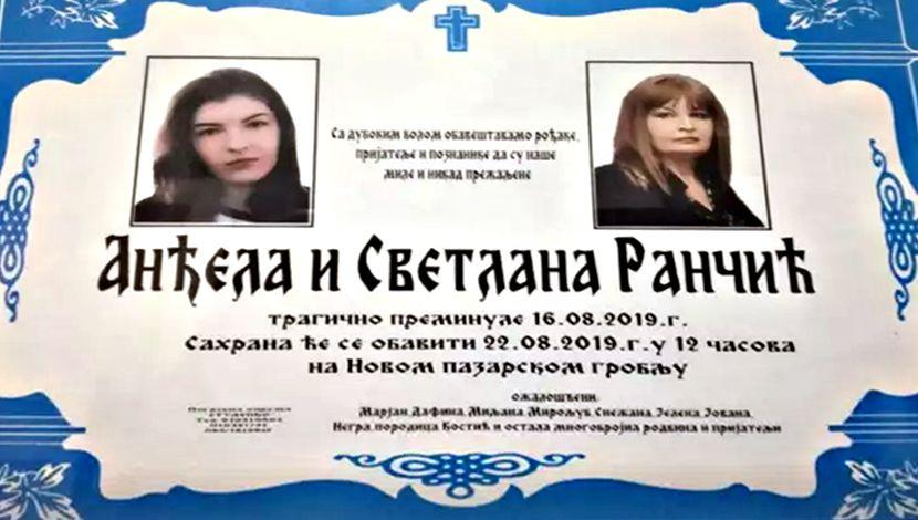 Svetlana Rančić (54) i njena ćerka Anđela (16) iz Pirota