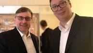 """""""Dug, ozbiljan i odgovoran razgovor"""": Vučić se sastao sa Trampovim specijalcem za Srbiju (FOTO)"""