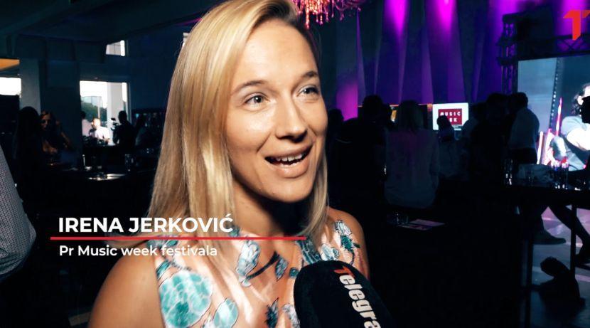 Irena Jerkovič, Music week